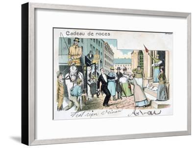 Wedding Gift, C1900--Framed Giclee Print