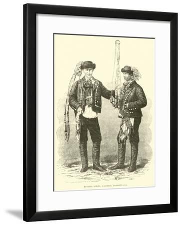 Wedding Guests, Kolosvar, Transylvania--Framed Giclee Print