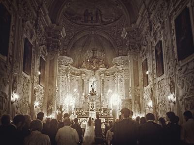 Wedding In Sicily-Golie Miamee-Art Print