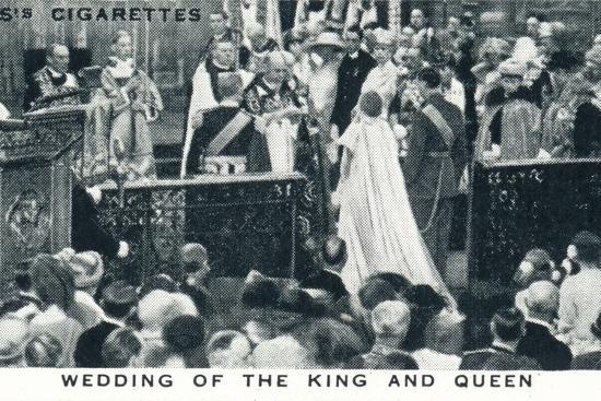 'Wedding of the King and Queen', 1923 (1937)-Unknown-Photographic Print