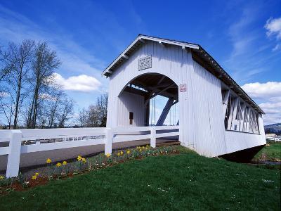 Weddle Covered Bridge-Ike Leahy-Photographic Print