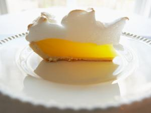 Wedge of Delicious Lemon Meringue Pie
