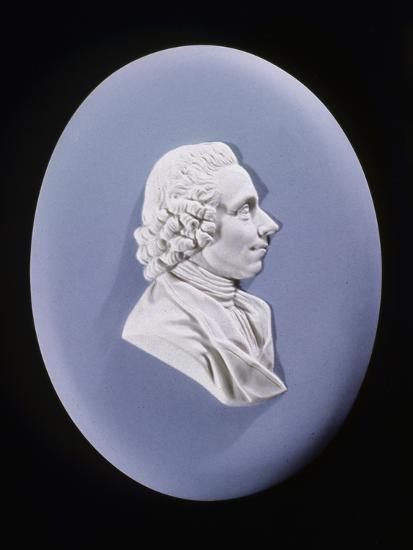 Wedgewood Plaque of Joseph Priestley (1733-180)--Photographic Print