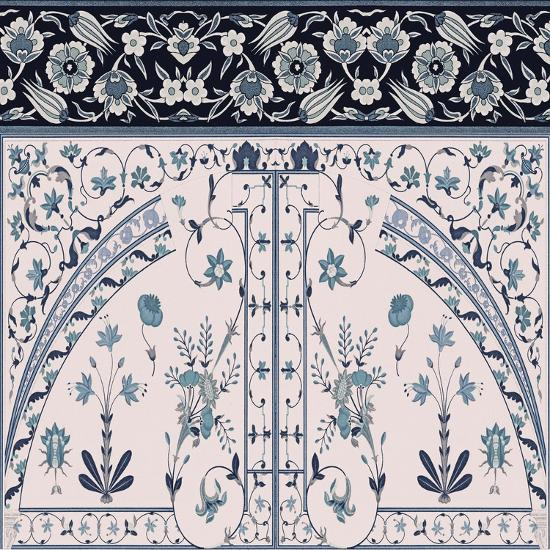 Wedgewood Trellis-Mindy Sommers-Giclee Print