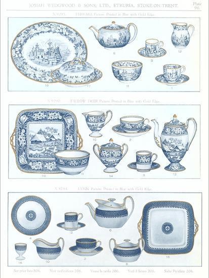 Wedgwood Etruria Ceramics--Art Print
