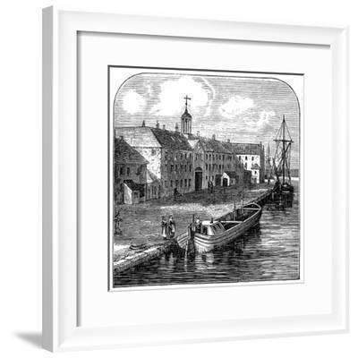 Wedgwood Etruria Potteries, Hanley, Staffordshire--Framed Giclee Print