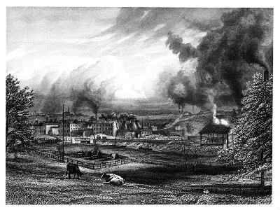 Wedgwood Factory, Etruria, Hanley, Staffordshire, England--Giclee Print