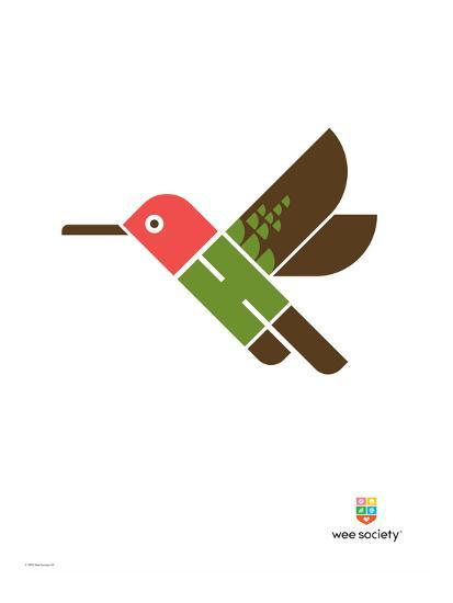Wee Alphas, Hai the Hummingbird-Wee Society-Giclee Print