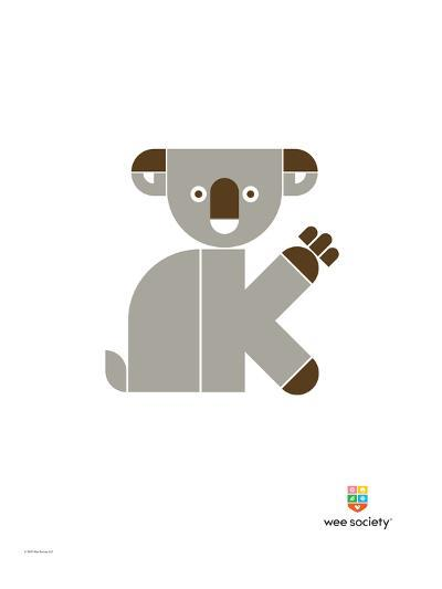 Wee Alphas, Kate the Koala-Wee Society-Giclee Print