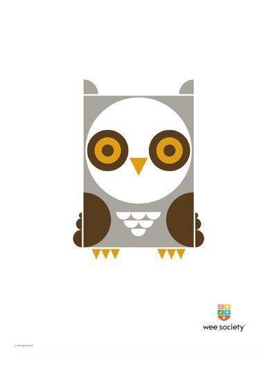 Wee Alphas, Ollie the Owl-Wee Society-Giclee Print