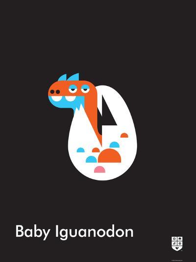 Wee Dinos, BabyIguanodon-Wee Society-Art Print