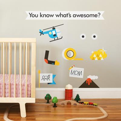 Awesome Collection 3 Wall Decal