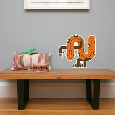 Letter N - Nelson the Newt Wall Decal