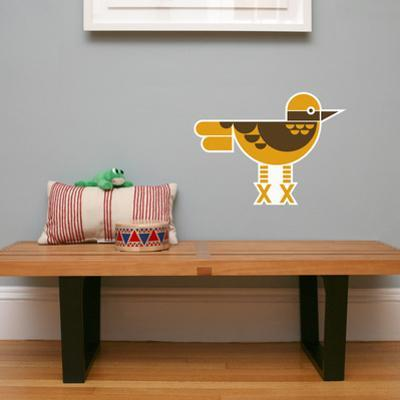 Letter X - Xavier the Xenops Wall Decal