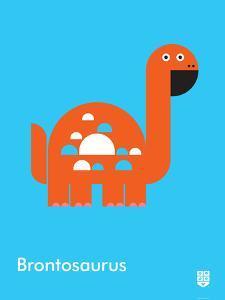 Wee Dinos, Brontosaurus by Wee Society