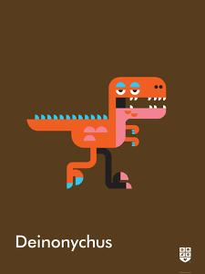 Wee Dinos, Deinonychus by Wee Society