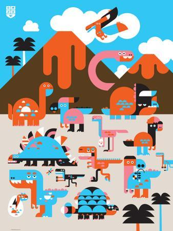Wee Dinos, Dino Land by Wee Society