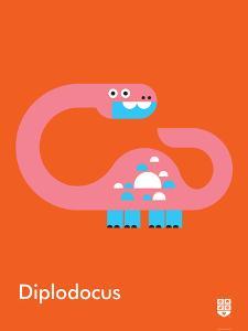 Wee Dinos, Diplodocus by Wee Society