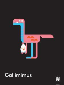 Wee Dinos, Gallimimus by Wee Society