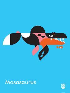 Wee Dinos, Mosasaurus by Wee Society