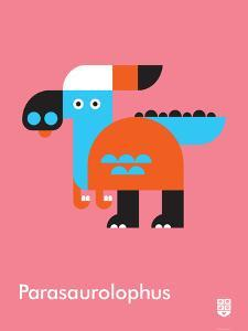 Wee Dinos, Parasaurolophus by Wee Society