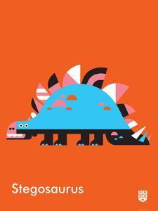 Wee Dinos, Stegosaurus by Wee Society