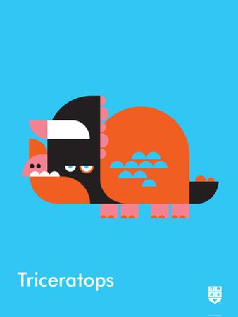 Wee Dinos, Triceratops by Wee Society