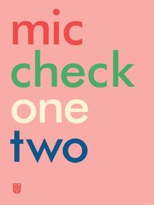 Wee Say, Mic Check by Wee Society