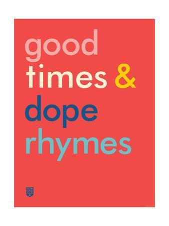 Wee Say, Rhyme Time