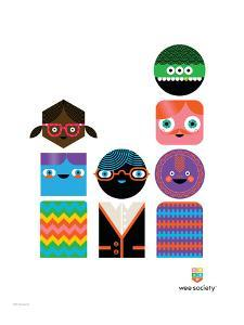 Wee You-Things Totem, Bea by Wee Society