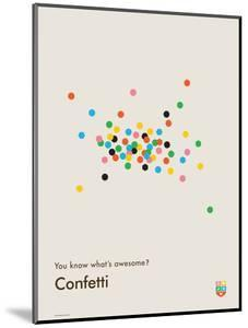You Know What's Awesome? Confetti (Gray) by Wee Society
