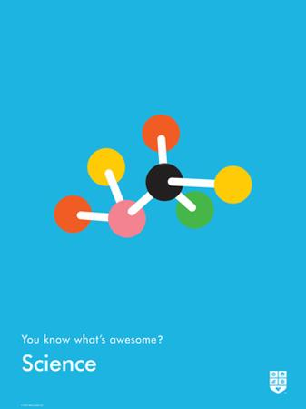 You Know What's Awesome? Science (Blue) by Wee Society