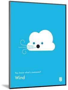 You Know What's Awesome? Wind (Blue) by Wee Society