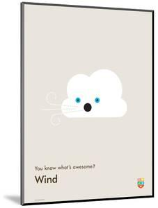You Know What's Awesome? Wind (Gray) by Wee Society