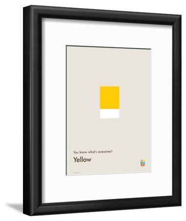 You Know What's Awesome? Yellow (Gray)