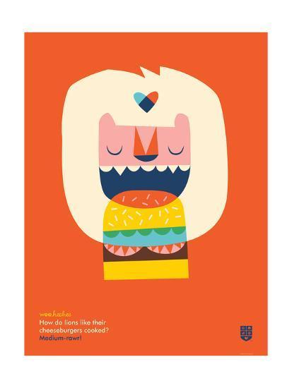 WeeHeeHee, Medium-Rawr-Wee Society-Giclee Print