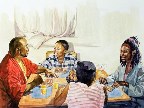 Weekend Breakfast, 2003-Colin Bootman-Giclee Print