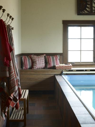 Weekend House Indoor Lap Pool, Usa-Stacy Bass-Photo