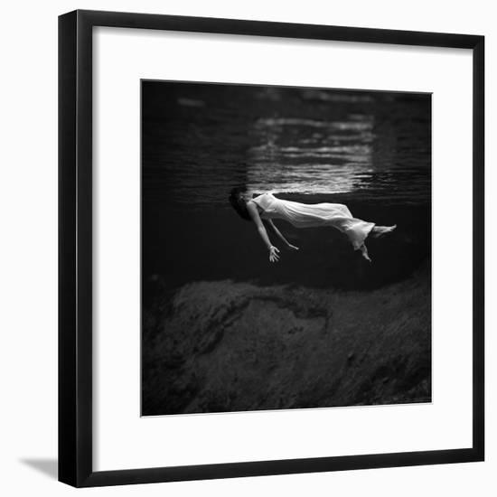 Weeki Wachee Spring, Florida (1947)-Toni Frissell-Framed Photographic Print