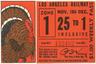 Weekly Railway Pass, 1934--Art Print