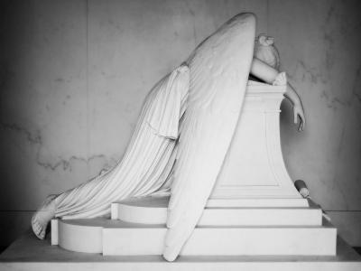 Weeping Angel-John Gusky-Photographic Print