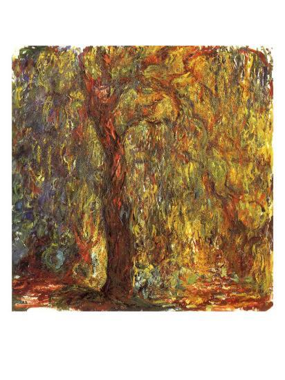 Weeping Willow, 1919-Claude Monet-Giclee Print