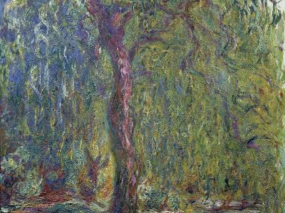 Weeping Willow, C. 1919-Claude Monet-Giclee Print