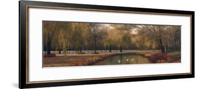 Weeping Willow Panel-Diane Romanello-Framed Art Print