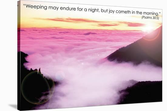 Weeping--Stretched Canvas Print