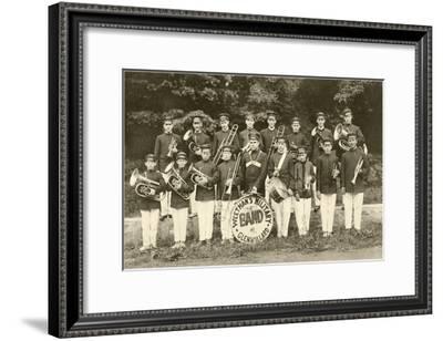 Weetman's Military Band--Framed Art Print