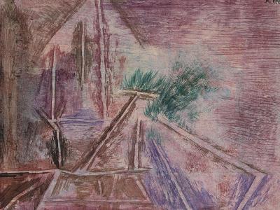 Wege Im Sand Ii-Paul Klee-Giclee Print