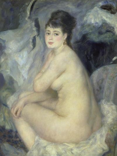 Weiblicher Akt (Anna), 1876-Pierre-Auguste Renoir-Giclee Print