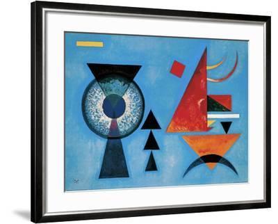 Weiches Hart-Wassily Kandinsky-Framed Art Print