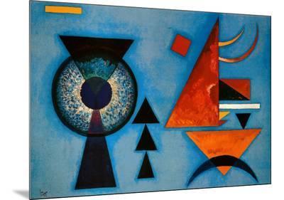 Weiches Hart-Wassily Kandinsky-Mounted Print